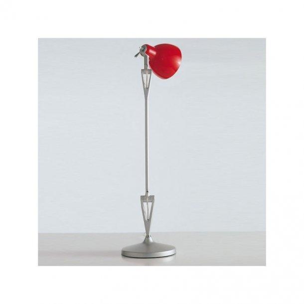 LUXY T1 bordlampe fra Rotaliana, Grå stel