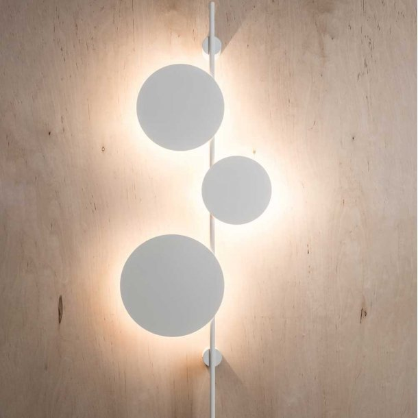 Ambiente K - Væglampe - Chors - Hvid - Lampefeber