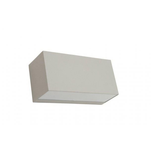 Asker - Up/Down LED væglampe - Alu - Norlys