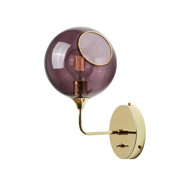 Ballroom Væglampe H37 Purple/Gold