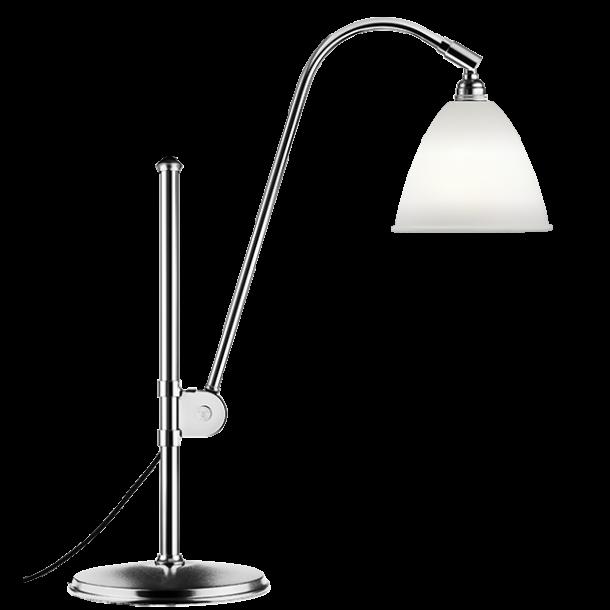 BL1 Bordlampe, Krom / Porcelæn - Bestlite