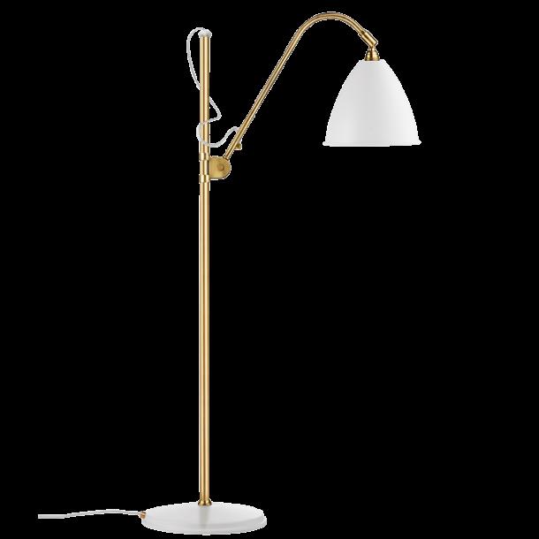 BL3M gulvlampe - Hvid/ Messing - Bestlite - GUBI