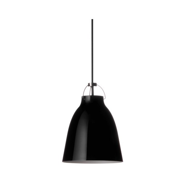 Caravaggio P1 lampe - high-gloss blackblack - Fritz Hansen