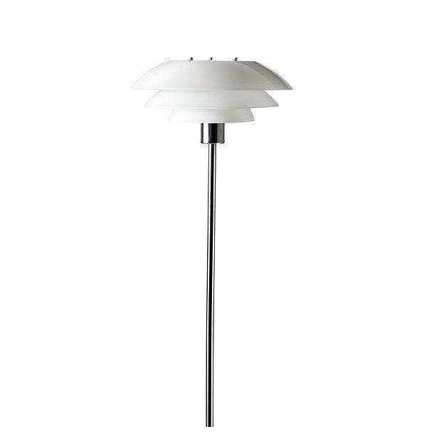 DL31 gulvlampe - Krom / Opal - Dyberg Larsen