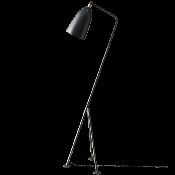 Gräshoppa gulvlampe - Antrasit grå - GUBI
