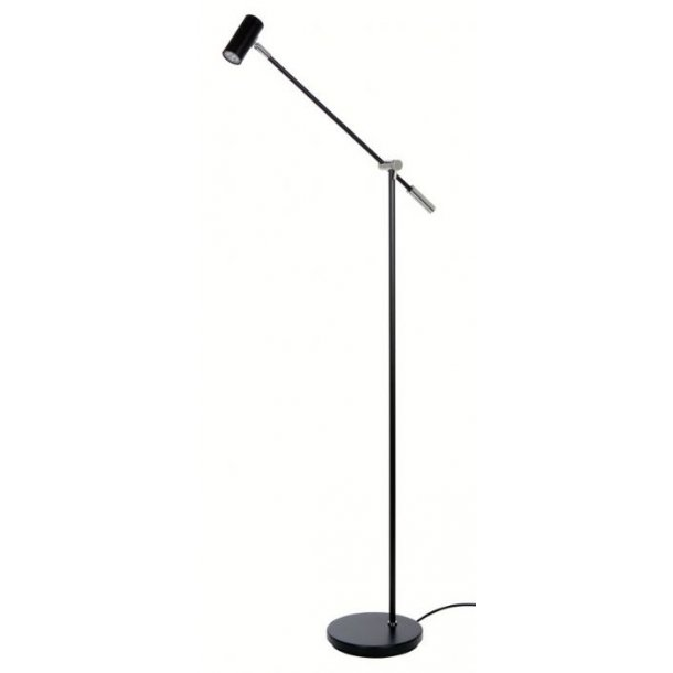 Cato LED Gulvlampe - Mat Sort - Belid