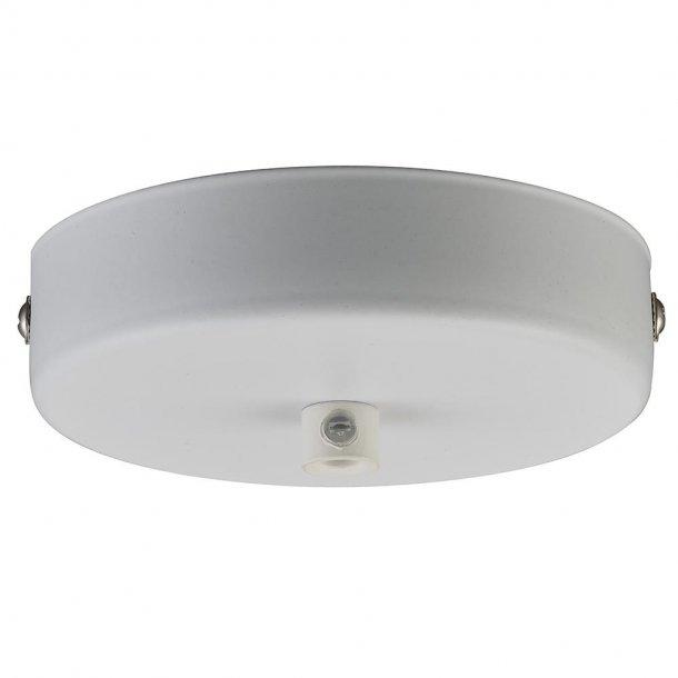 Baldakin 1 hullet, Hvid Ø10 - Halo Design