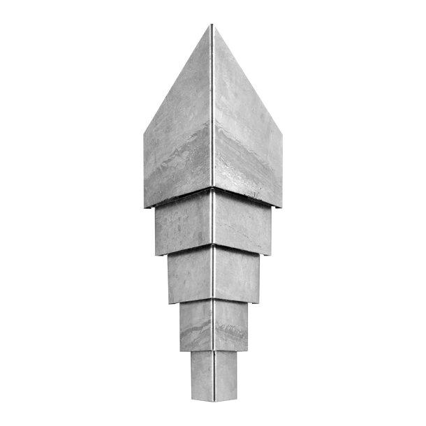 Diamond væglampe 420 - Zink - Askman Light