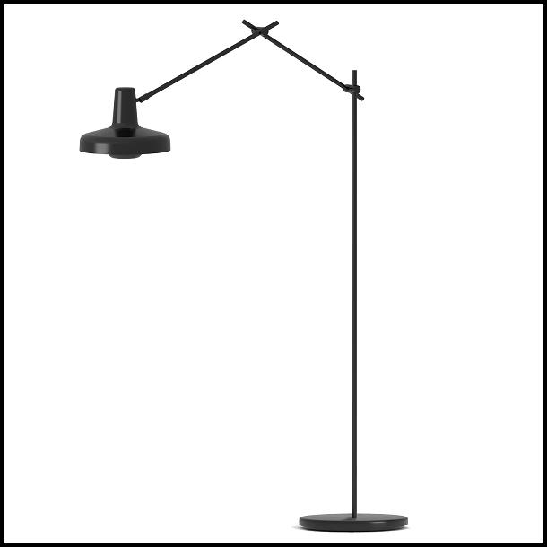 Arigato gulvlampe 1, Sort - Grupa Products - Lampefeber