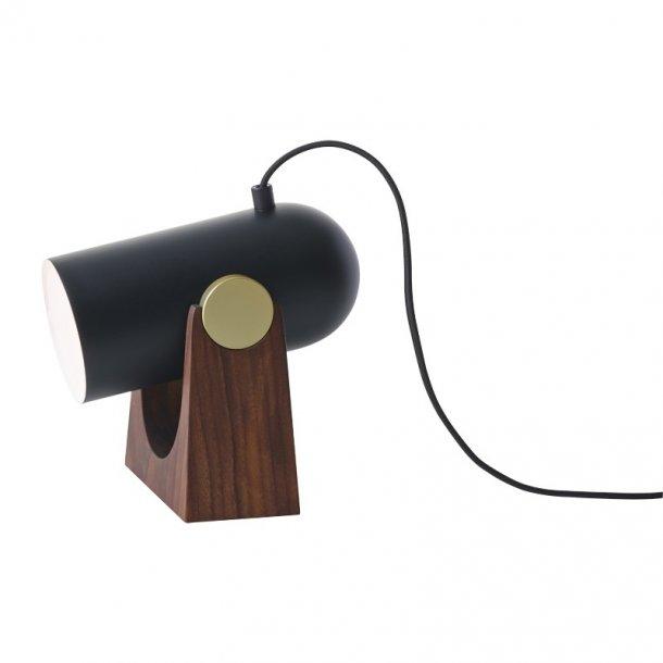 Carronade - Bord / Væglampe - Sort - Le Klint