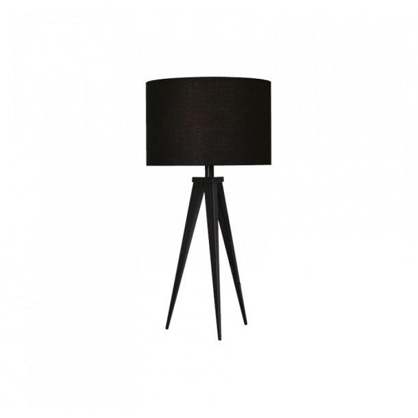 Paso Basic 35 bordlampe sort med sort skærm - Darø