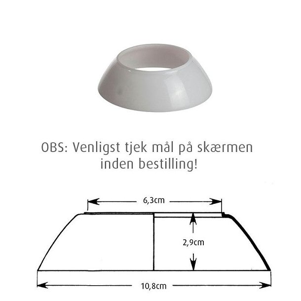 PH 2-1 Glas Mellemskærm - Louis Poulsen