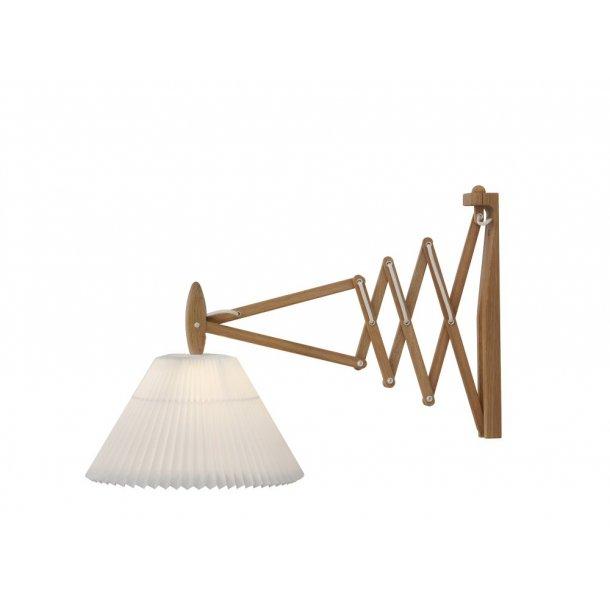 LE KLINT væglampe 233, 2/21 - Lys Eg