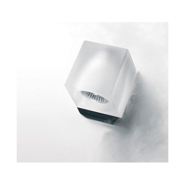 Ice Cube væglampe - Frosted med Ledningsudtag - Lampefeber