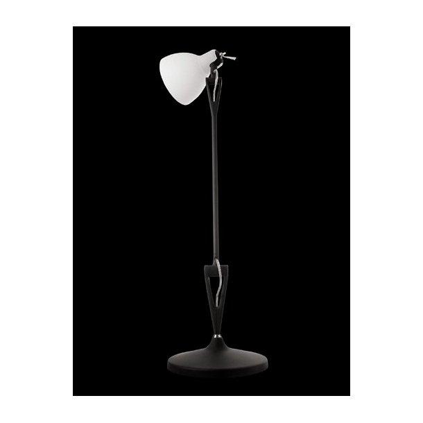 LUXY T1 bordlampe fra Rotaliana, Sort stel