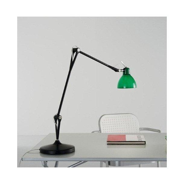 LUXY T2 bordlampe fra Rotaliana, Sort stel