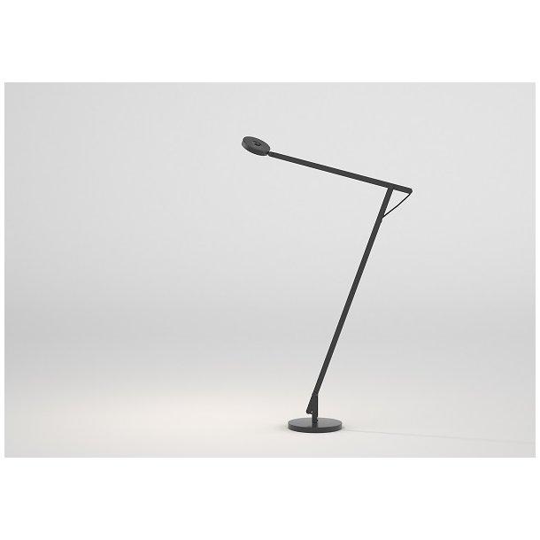 String gulvlampe - Sort - Rotaliana