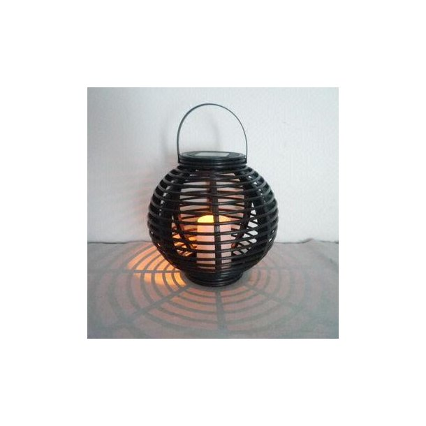 Solar lampe Rattan - Ø22