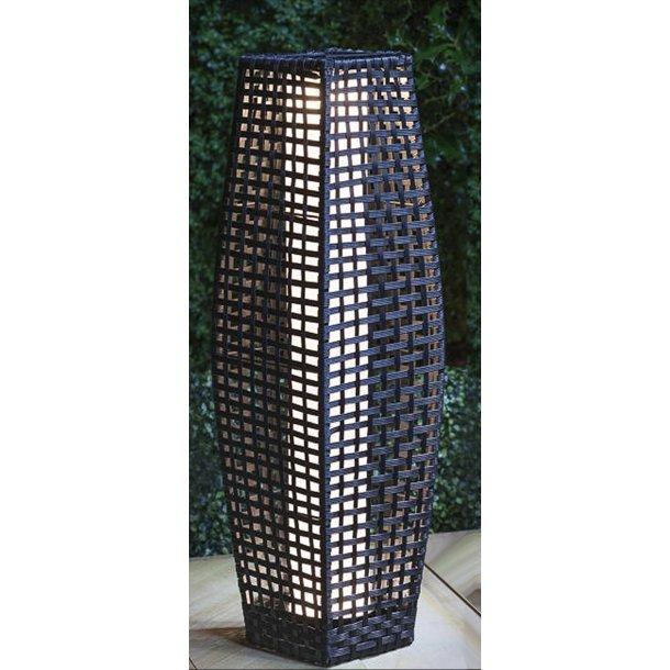Solar Rattan Gulvlampe 49 cm