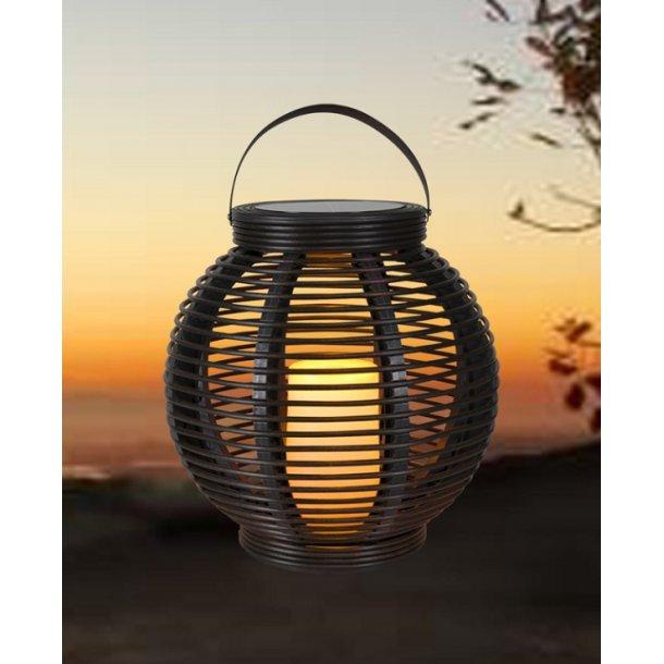 Solar lampe Rattan - Ø34