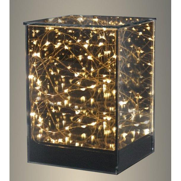 Batteri Glas Vase - Stor - Veli-Line